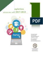 2017-2018 fafsa debrief