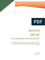 Nuevo DB HE_una Explicación Necesaria