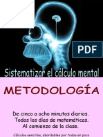 CALCULO MENTAL secuenciacion.ppt