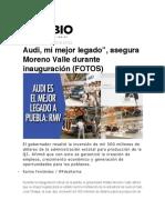 03.10.2016 Diario Cambio - Audi, mi mejor legado_, asegura Moreno Valle durante inauguración