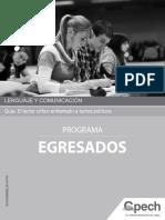 EL-09 El Lector Critico Textos Politicos (Egresados)