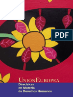 UE - Directrices en Materia de Derechos Humanos.pdf