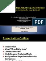 CVR Technique App Guide for Smarter Grid