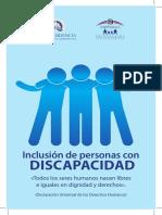 Brochure para la Inclusión de Personas Con Discapacidad