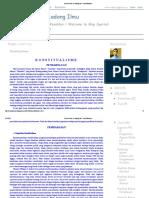 Dunia Hukum & Ladang Ilmu_ Konstitualisme