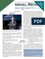 Centennial Review October 2016