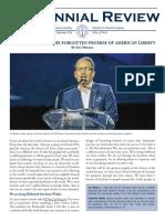Centennial Review September 2016