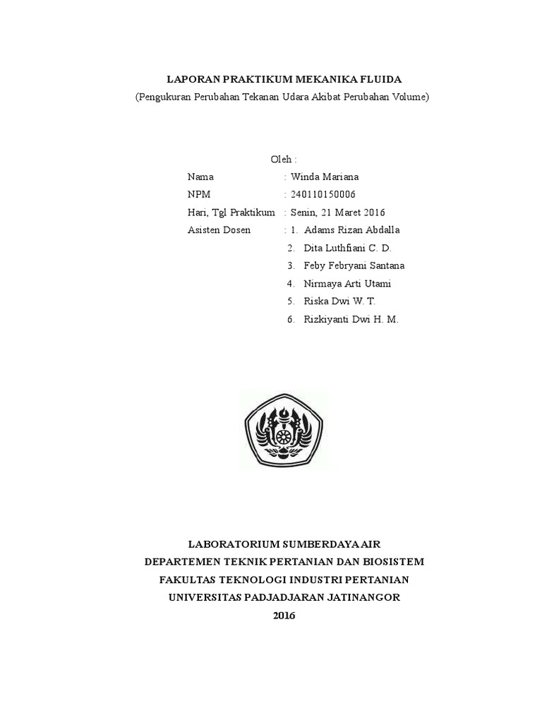 Tekanan Udara (Volume) - Hukum Boyle