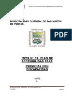 Informe Del Plan de Accesibilidad Smp Final