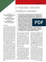 ARTIGO TECNICO ED75_COBERTURAS - Cobertura Modulada Utilizando Perfis Metálicos Tubulares