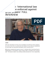 Chomsky Interview on International Law.docx