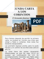 2da Carta Corintios