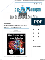 Master Collection CS6 Para MAC Links Officiales + Crack Universal