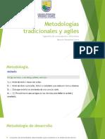 Metodologias tradicionales y agiles