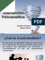 Presentacion Clinica Terapia Psicoanalitica