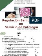 Regulacion Sanitaria de Un Servicio de Patolgia