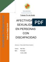 Afectividad y Sexualidad Personas Con Discapacidad