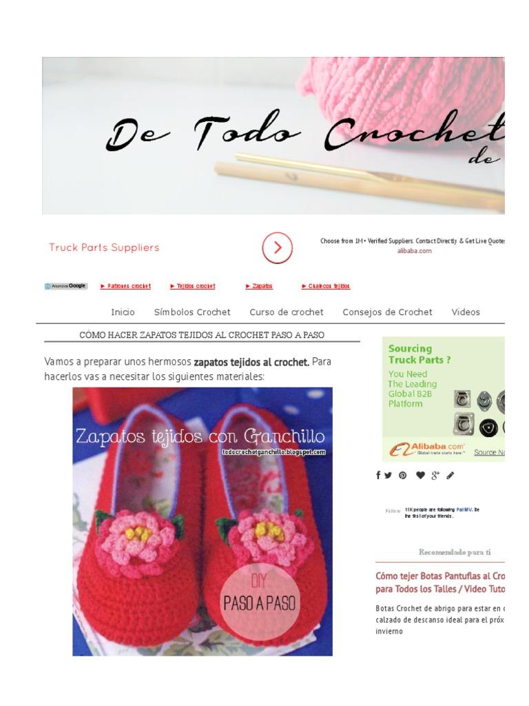 Contemporáneo Ganchillo Para Mujer Botas Patrón Libre Colección de ...