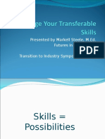 MSteele- Leverage Your Transferable Skills.ppt