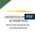 T7.2 - Contraste de Hipótesis No Paramétricos