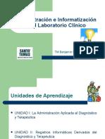 ADministracion e Informatizacion en El Laboratorio Clinico 1a Clase