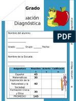 2do Grado - Diagnóstico.doc