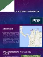 La Ciudad Perdida%2c Los Tayrona.