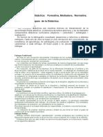 Funciones de La Didáctica