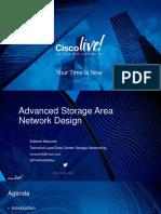 BRKSAN-2883 - Advanced Storage Area Network Design (2016 Las Vegas)