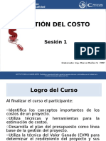 IC PUCP - Gestión de Costos-Sesión 1