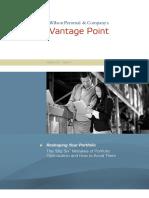 WPC Vantage Point - Reshaping Your Portfolio