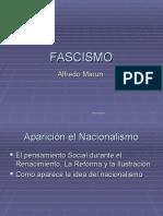 Nacionalismo y Fascismo