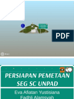 Persiapan Pemetaan