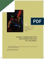 Modelo Hermenpeutico Del Debido Proceso en Colombia