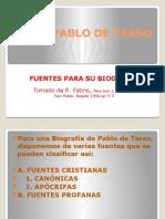 Pablo de Tarso-fuentes