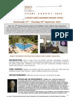 Kosher Hotels Succot 2010 Dan Caesarea Israel