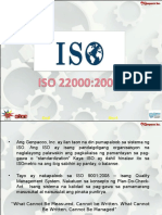 What Is ISO 22000 S. 2005?