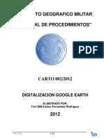 Digitalizacio en Google Hearth
