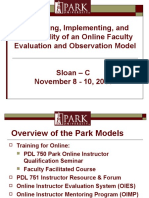 cur532 r3 online faculty evaluation powerpoint  2