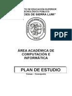 Plan de Estudio de Computacion 2016