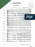 Fantasía Para Piano y Orquesta