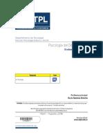 Evaluación a Distancia Psicología Del Desempeño 2 - Abril-Agosto 2016