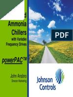 Johnson Controls Ammonia Slides
