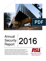 ASU Campus Security Report