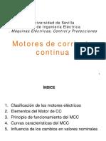 Motores de c.c. Con Escobillas
