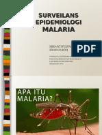 Surveilans Epidemiologi Malaria