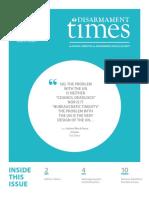 Disarmament Times, Fall Winter 2015