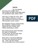 Form 1 Poem - Newsbreak