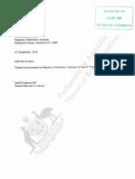 David Coleman register of interests