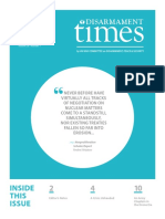 Disarmament Times, Spring-Summer 2015